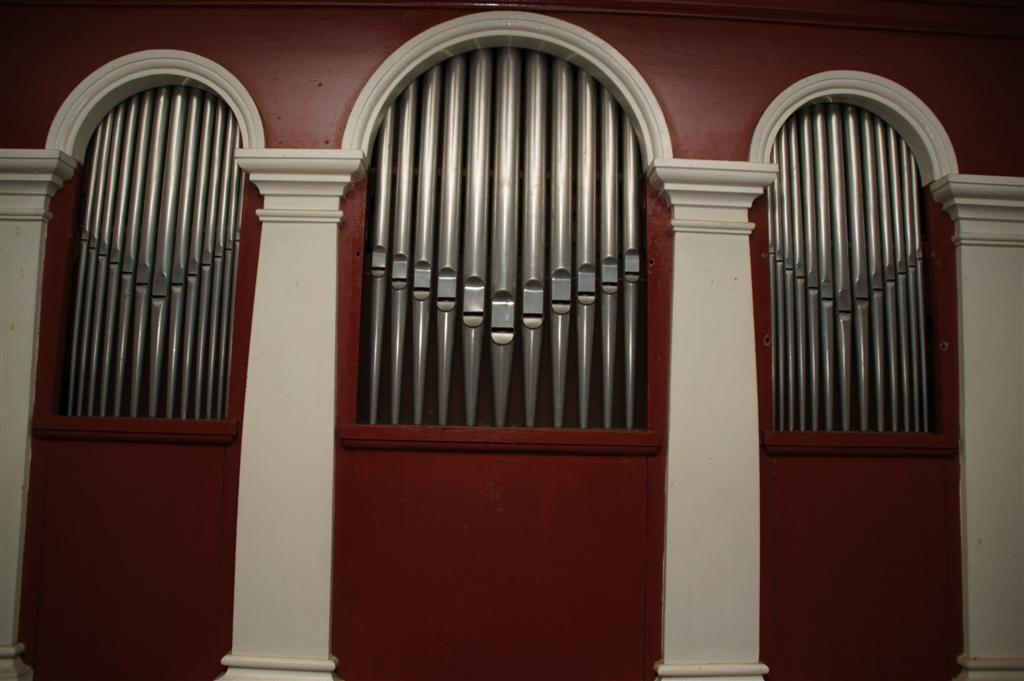 Die Orgelpfeifen