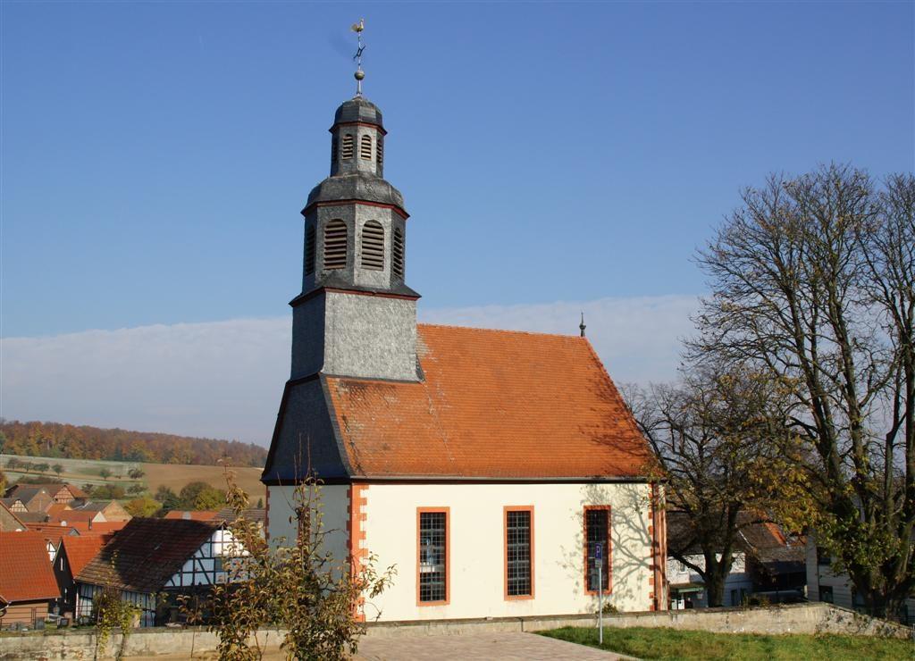 Die Kirche in Heegheim
